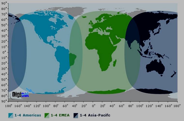 Inmarsat Fleetbroadband Service Footprint