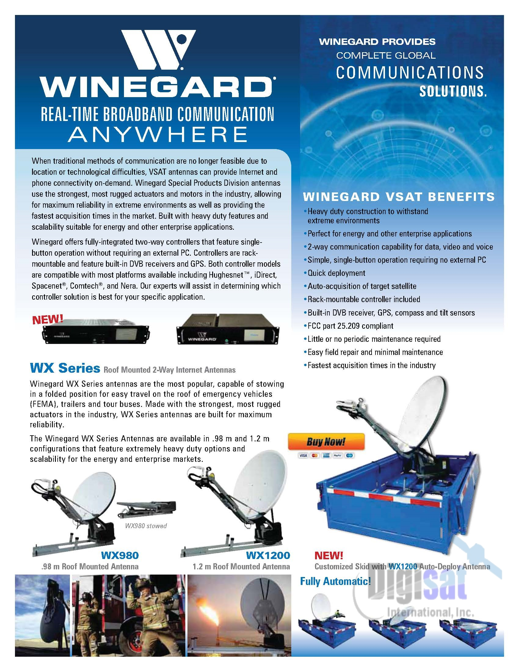 Winegard WX980 Technical Specifications