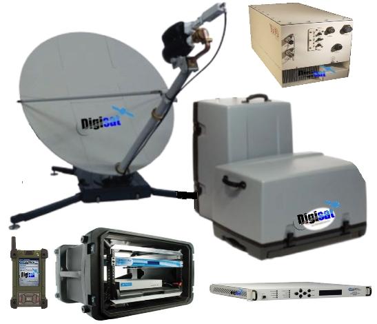 AIR Series Portable VSAT Flyaway Terminal System