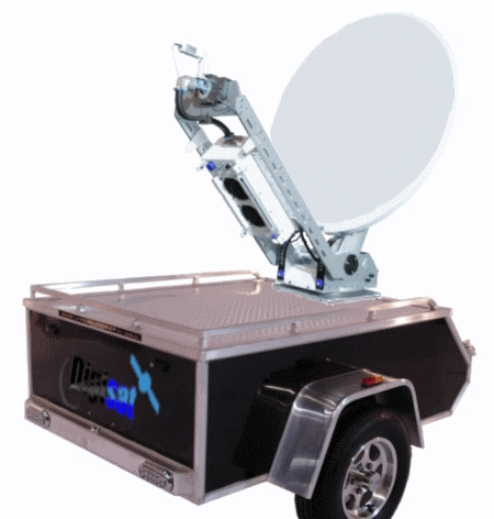 Mobile Satellite VSAT Internet Trailers