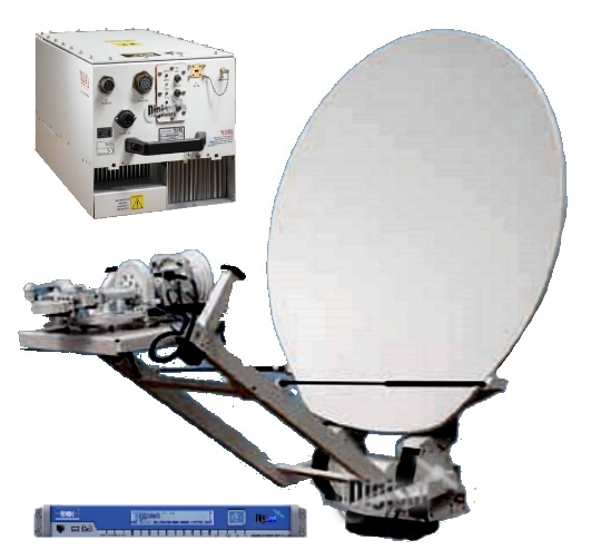 EDGE-VM Series Integrated SNG VSAT Antenna Systems
