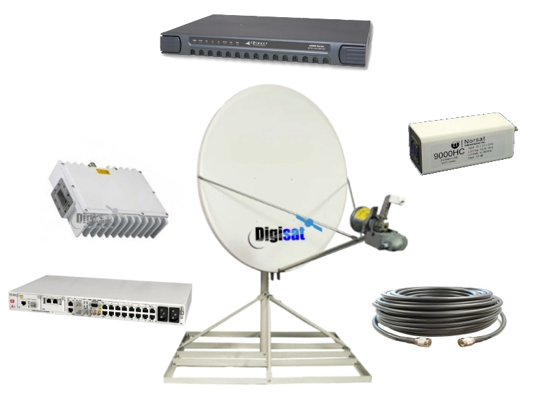 Africa Fixed Satellite Dish Internet Kit