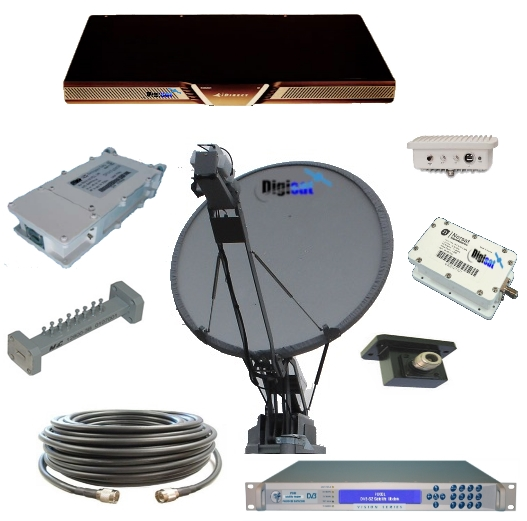 Vehicle Satellite Internet kit africa