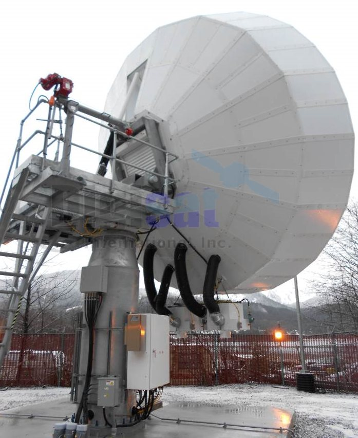 ka-band satellite communications systems installation integartion solutions