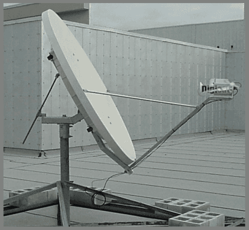 Portable Satcom Uplink Broadcast Solution