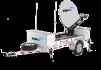 Mobile Satcom Trailer System