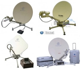 Norsat International Transportable Satellite Terminals