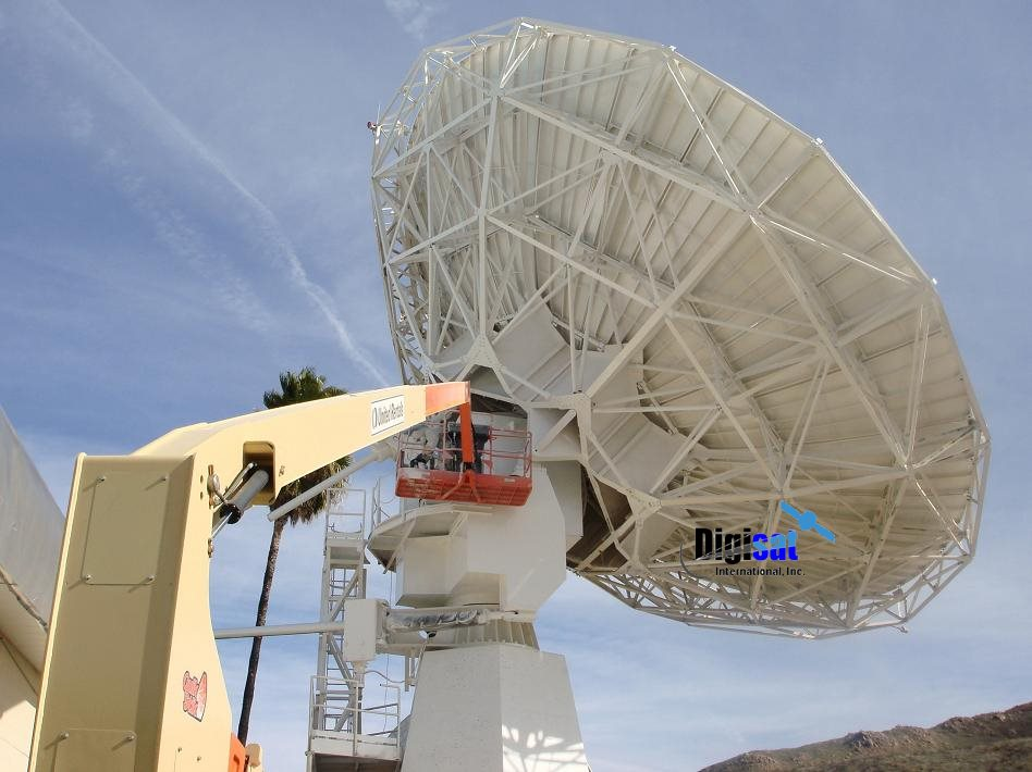 Satellite Earth Station Antenna Maintenance Services