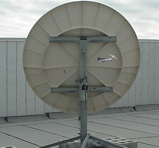 Operational VSAT Internet system in Republic of Congo