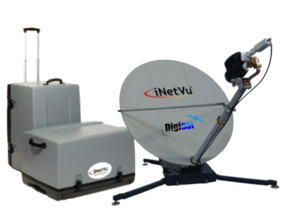 Disaster Communications Flyaway VSAT Satellite Internet Terminal