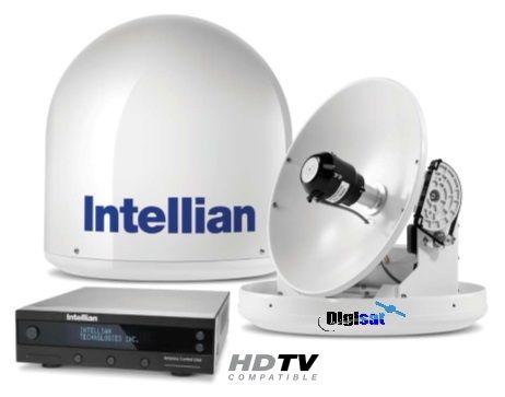 Intellian I2 14 Compact Marine Satellite Tv Dish