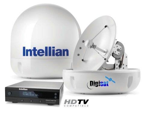 Intellian I6 And I6p Marine Satellite Television System