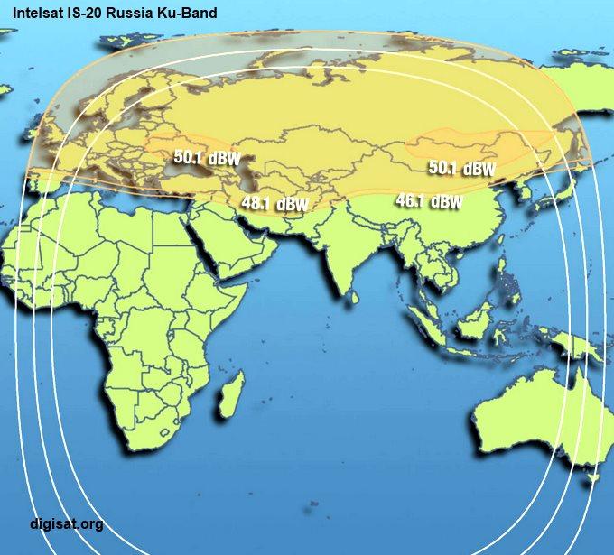International Auto Sales >> Intelsat IS-20 Satellite Footprint Maps- Ka-Band, C-Band, Ku-Band